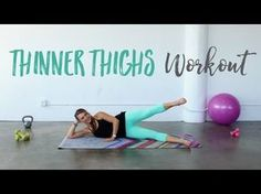 Get Thinner Thighs! • The BEST Inner Outer Thigh Workout