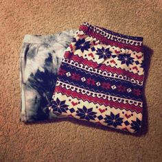 Leggings Bundle Left pair is from Target, size medium. Right pair is size large but fits like a medium. Pants Leggings