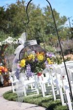 outdoor wedding decoration | Lindsey Hawk Designs
