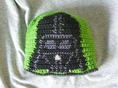 Crochet Darth Vader Hat  Star Wars Scifi  by LindenLeasCrochet