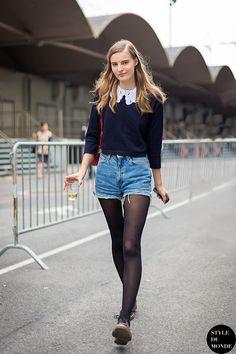 Model's Street Style #7 - the Fashion Spot