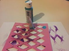 Sweet Red Clover: Fun Foam Stencils
