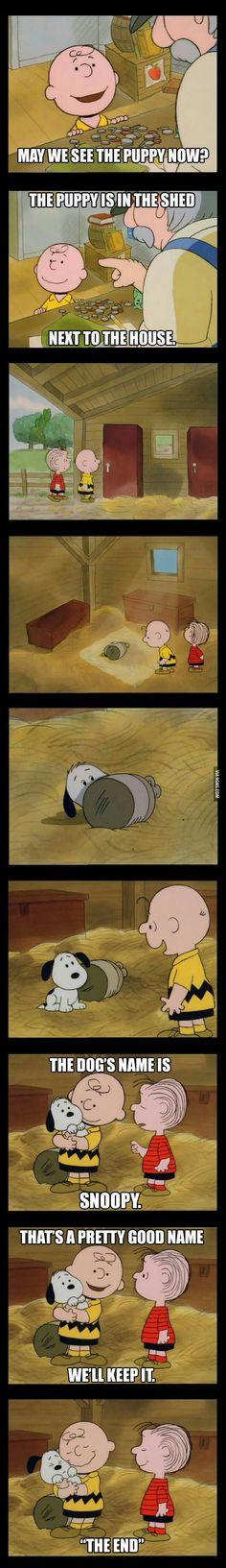 Just thinking...I love Peanuts!