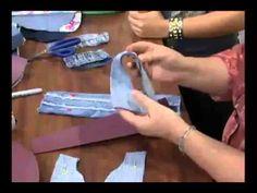 Bolsa em Jeans VIVI PRADO - Programa Mulher.com (05/06/2012)