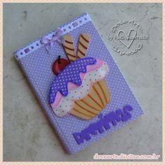 Caderno de Receitas - Cupcake