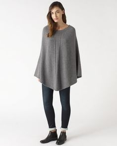 Jigsaw's ponchos come in natural and pastel colours, made from knitted wool and cashmere. Add a rolled or long poncho for a stylish finish or extra warmth. Knitted Cape, Ladies Poncho, Jumpers For Women, Black Knit, Knitwear, Cashmere, Normcore, Wool, Stylish