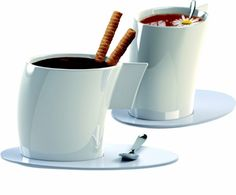 VENTO Tea Cups Set of 2 from Design Shop,  Inc for $28 on Square Market