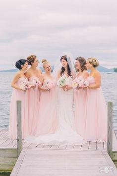 #floraldesign #florist #eventdesign #bridalbouquet #bridesmaids #bridesmaidsbouquets #pink #peonies #full #lush #blush #romantic www.renaissancefloraldesign.com www.corbingurkin.com