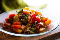 Raw and Cooked Tomato and Herb Salad With Couscous and Sorghum - NYTimes.com