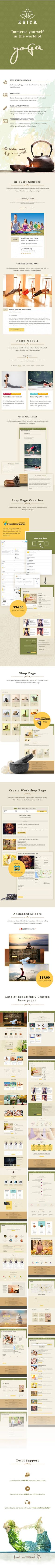 Kriya Yoga  Health & Yoga WordPress Theme