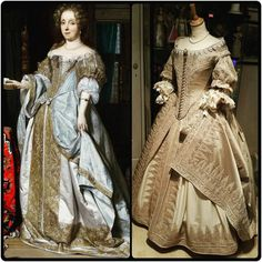right: Walking Through History with Jasper and Angela Left : Portrait of a lady by Gabriel Metsu, 1667.