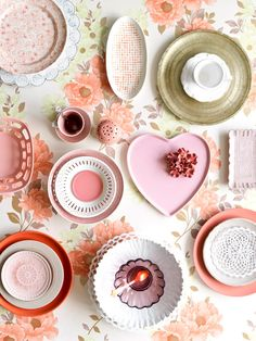 the most beautiful collection of plates styled by K.Zimmerman