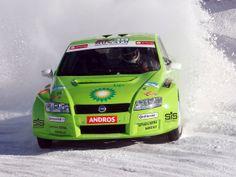 FIAT Stilo ice race car