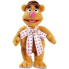"""Fozzie Bear!  (15"""" plush doll). Waka!  Waka!  Waka!"""