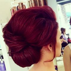 Red Burgundy Hair Color