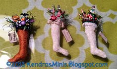 Kendra's Minis: Tom Bishop Show -- Stockings by Paulette Svec