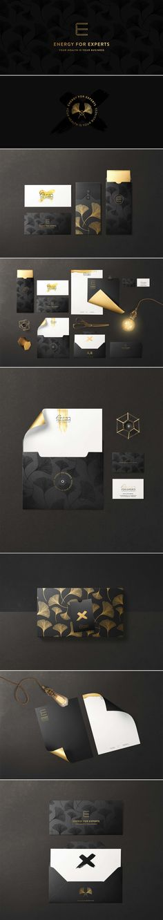 Energy for Experts - Cocorrina by Corina Nika branding indentity