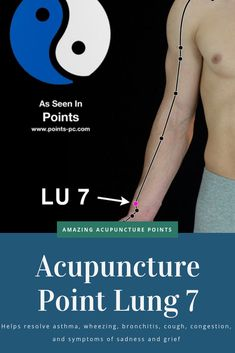 Acupuncture Therapy Resolve asthma, wheezing, bronchitis, cough, congestion and symptoms of sadness and Acupuncture Benefits, Acupuncture Points, Acupressure Points, Acupressure Massage, Yoga, Stomach Ulcers, Asthma Symptoms, Traditional Chinese Medicine, Natural Remedies