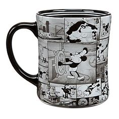 Disney Mickey Mouse ''Steamboat Willie'' Mug - Another must have! I love Mickey, especially the older versions, and I can never have enough big coffee mugs.