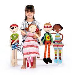 Zum Spielen, Anschmiegen, Träumen: Kuschelpuppen von sigikid. http://www.sigikid-shop.de/fashion/de/shop/geschenke-kleinkind/kuscheltiere/Puppen/