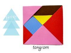 DIY tangram de foamy