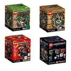 Gmarket - Lego Minecraft collection 4 set (The Minecraft 21102. ...