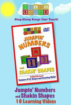 Jumpin' Numbers and Shakin' Shapes
