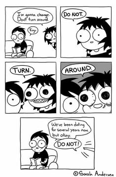 Anybody who's familiar with the comics of Sarah Andersen will know how perfectly they summarize the daily struggles of modern life, especially when it comes to Sarah Anderson Comics, Sara Anderson, Funny Cartoons, Funny Jokes, Hilarious, Funniest Memes, Funny Gifs, Cute Comics, Funny Comics