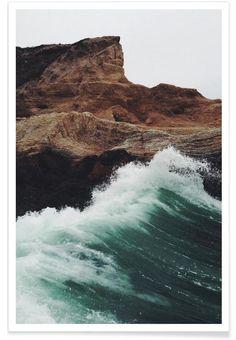 Montana Wave als Premium Poster