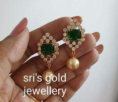 Ear Cuff Jewelry, Jewelry Design Earrings, Gold Earrings Designs, Designer Earrings, Gold Jewelry Simple, Ear Rings, Jewelry Collection, Studs, Drop Earrings