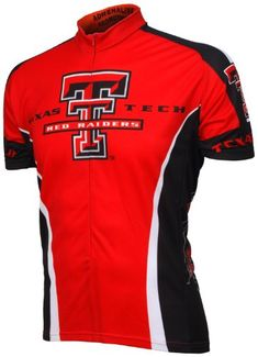 NCAA Texas Tech Cycling Jersey XLargeRedBlackWhite * You can find more details by visiting the image link.Note:It is affiliate link to Amazon.