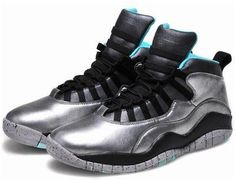 5fde3be290b Jordan X (10) Liberty Grey Teal-0312 Cheap Jordans For Sale, Jordan