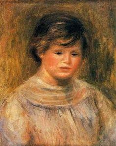 Pierre Auguste Renoir Womans Head6