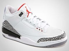 on sale 92e24 988fe Air Jordan III Retro 88  White Cement  – Available Tomorrow (Feb