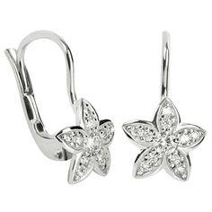 Brilio Cercei floare din aur alb cu cristal 239 001 00 751 07 - 1,45 g Aur, Jewelries, Heart Ring, Inspirational, Earrings, Ear Rings, Crystal, Fragrance, Stud Earrings