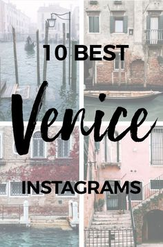 10 Venice Instagrammers to Get You Inspired for Your Next Trip - 10 BEST VENICE INSTAGRAMS #venice #venezia #instagram