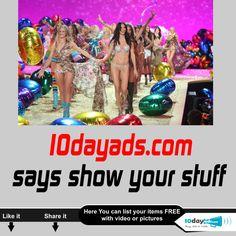 10dayads.com Says show your Stuff  #ShowYourStuff #Freeclassifiedssites #Freeadvertisement #FreeadsPosting #Freebusinessadvertising