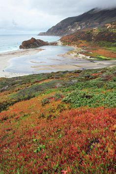 """""""Autumn in *Big Sur California*""""  --  [Photographer Pierre Leclerc]'h4d'121015"""