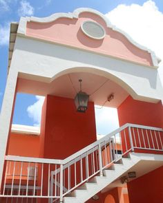 Bermuda Coral & Pink Architecture. Pin provided by Elbow Beach Cycles http://www.elbowbeachcycles.com
