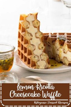 This recipe uses the Breville Smart Waffle, making crispy golden waffles without the mess!