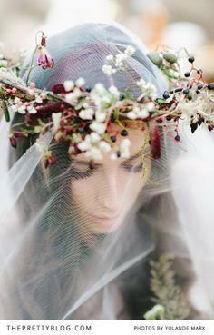 crown w/veil