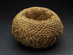 "Roll Up, by Yukari Kikuchi, Amur cork tree 6"" x 8"" x 8"" 2004 via Contemporary Basketry: Gathered Materials"