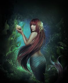 809 best images about mermaids and mermen ii on Mermaid Cave, Siren Mermaid, Fantasy Mermaids, Mermaids And Mermen, Hans Christian, Art Journal Pages, Sirens, Dragons, Wolf