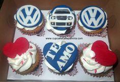 Volkswagen cupcakes