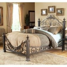 Baroque Iron Bed