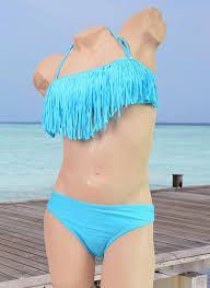 Afbeeldingsresultaat voor kinder bikini met franjes