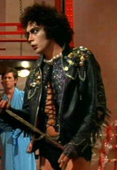 The heady heights of Tim Curry's career. Looking gorgeous!