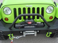 Things to Consider When Choosing a Jeep Winch - Mount Types