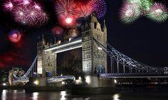 In der Silvesternacht knallen Korken und Raketen – auch in Großbritanniens Hauptstadt London. Wie aller Anfang soll auch der Jahresbeginn gelingen, weswegen de