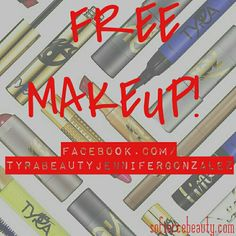 💄FREE MAKEUP 💄 #free #makeup #giveaway #tyrabeauty #tyrabanks #mua #makeupartist #facebook